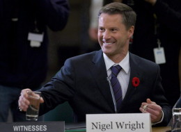 A Harvard-educated Bay Street lawyer and banker, Nigel Wright has been Harper's right-hand since 2010. (CP)