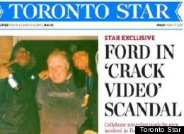 A video of Rob Ford was shopped out to media outlets, including Gawker and The Toronto Star. The owner of the video said the mayor was sold crack cocaine.