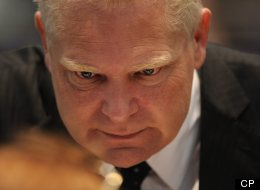 Doug Ford, brother of Toronto Mayor Rob Ford, held an angry press conference that denied crack allegations against his brother. (CP files)