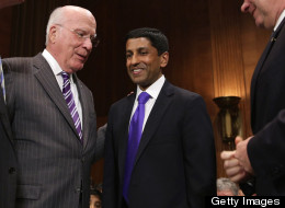 The Senate on Thursday overwhelmingly confirmed Sri Srinivasan to the D.C. Circuit Court of Appeals. The key Obama nominee is but a piece of a broader Senate fight on judicial and cabinet nominees. (Chip Somodevilla/Getty Images)