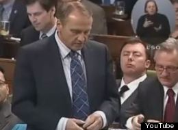 Tory MP Rob Anders seems to agree that Ottawa is boring. (YouTube)
