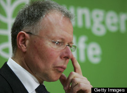 Hans-Joachim Preuss, General Director of Agro Action, or in German Welthungerhilfe looks on during a news conference on March 9, 2007 in Berlin, Germany. (Photo by Andreas Rentz/Getty Images)