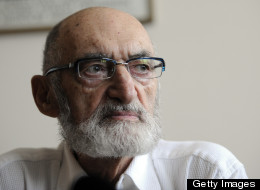 Dr. Henry Morgentaler speaks at a press conference this morning at his Toronto abortion clinic, after it was announced he will receive the Order of Canada. Toronto Star/Tony Bock (Photo by Tony Bock/Toronto Star via Getty Images)
