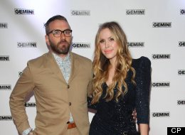 You can say whatever you want about City and Colour's Dallas Green and his music. But he's had enough with the on-line attacks on his wife, TV personality Leah Miller. (Getty)