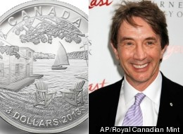 Canadian funnyman Martin Short is sharing a personal slice of cottage life through the creation of a special collector coin. (Royal Canadian Mint/AP)