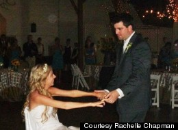 Rachelle Friedman, a bride who became paralyzed a month before her wedding, shares inspiring advice on moving forward in the face of adversity.