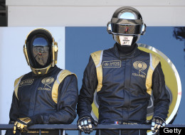Sales for Daft Punk's latest have dropped.