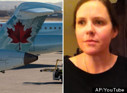 An Ontario woman has launched a formal complaint against Air Canada after she says the airline humiliated her during her trip to Alberta.