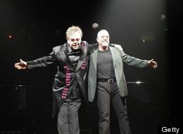 Billy Joel and Elton John.