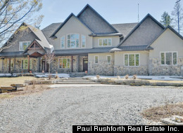 Former Ottawa Senators player and fan favourite Mike Fisher and his wife, country singer Carrie Underwood, are selling their west Ottawa home for $2.2 million. (Paul Rushforth Real Estate Inc.)