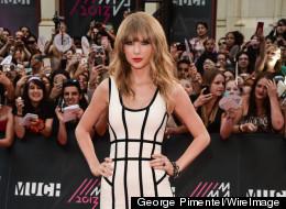 Taylor Swift at the 2013 MMVAs.