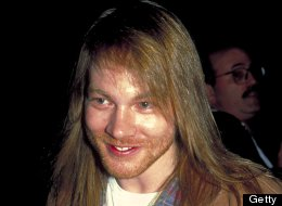 Axl Rose of Guns N' Roses at the Waldorf-Astoria Hotel in New York City, New York in 1994. (Photo by Steve Eichner/WireImage)