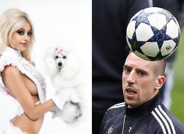 Zahia et Franck Ribéry