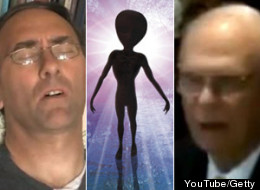 U.K. City Councillor, like former Canadian defence minister Paul Hellyer, thinks aliens are real and regularly visit Earth. (YouTube/Getty)