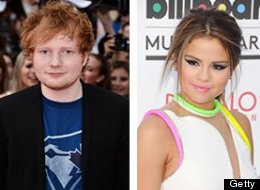 The rumor mill churned out a report Selena Gomez was dating Ed Sheeran Wednesday, but the gossip turns out to be false. (Getty)