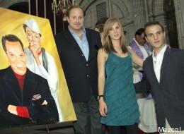 Mario Moreno Bernat (derecha), nieto de Cantinflas, encontrado muerto