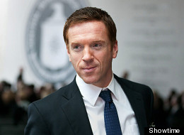 Damian Lewis is now bald. He debuted his new look in Scotland over the weekend.