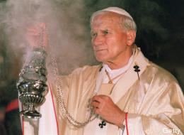 El papa Juan Pablo II en octubre de 1988
