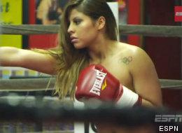 La boxeadora Marlen Esparza se desnuda en la revista ESPN Body Issue 2013