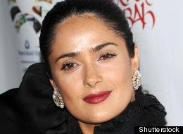 salma hayek  at 'rock the...