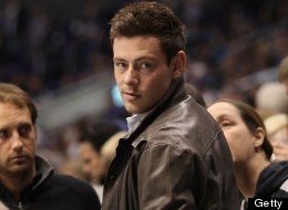 Actor Cory Monteith attends the NHL game between the Vancouver Canucks and the Los Angeles Kings at Staples Center on March 23 in Los Angeles, California. The Canucks defeated the Kings 1-0.  (Photo by Victor Decolongon/Getty Images)