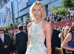 Tennis player Maria Sharapova attends The 2013 ESPY Awards at Nokia Theatre L.A. Live on July 17, 2013 in Los Angeles, California.