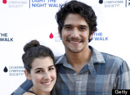 Tyler Posey is engaged to his girlfriend, Seana Gorlick. Here, they attend Variety's Power of Youth presented by Hasbro, Inc. and generationOn at Universal Studios Backlot on July 27.
