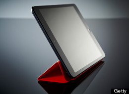 An Apple iPad Mini tablet computer fitted with a Smart Cover photographed during a studio shoot for Tap Magazine, January 3, 2013. (Photo by Joseph Branston/Tap Magazine via Getty Images)