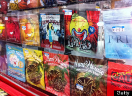 Synthetic marijuana, sold in colorful packages with names like Cloud Nine, Maui Wowie and Mr. Nice Guy, sits behind the glass counter at a Kwik Stop in Hollywood, Florida. Police are beginning to crack down on synthetic drugs. (Susannah Bryan/Sun Sentinel/MCT via Getty Images)