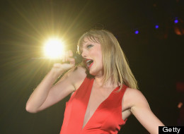 EAST RUTHERFORD, NJ - JULY 13:  Taylor Swift brought her RED tour back to the New York market, playing a sold out show to more than 55,000 fans at MetLife Stadium on July 13, 2013 in East Rutherford, New Jersey.  (Photo by Larry Busacca/TAS/Getty Images for TAS)