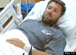 Erik Norrie, survived a shark attack, but has also been struck by lightning and bitten by a poisonous snake.