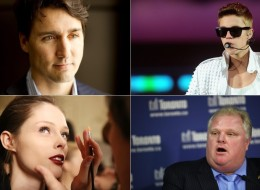 Celebrities -- entertainment and sports stars, especially those with an American audience -- outshone just about all other Canadians on Macleans magazine's survey of who earns what. (Composite image: AP, Canadian Press, Getty)
