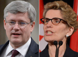 Ontario Premier Kathleen Wynne called Prime Minister Stephen Harper's comments on a national inquiry for Canada's missing and murdered aboriginal women