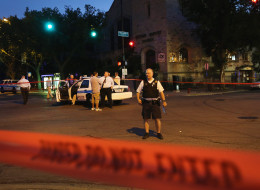 At least 6 people are dead and 15 more injured in Labor Day weekend violence in Chicago. (Photo by Scott Olson/Getty Images)