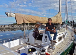 Glenn Wakefield is set to embark on a 50,000-kilometre sailing trip that will take him around the world starting Monday in Victoria. (Marylou Wakefield)
