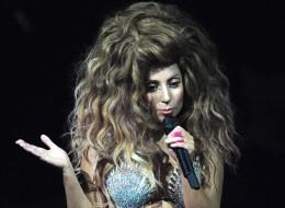 Lady Gaga spoke of hiding in her house.
