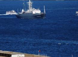 Moscú envió buques de guerra al Mediterráneo para una posible evacuación de los ciudadanos rusos que están en Siria.(Photo credit should read BULENT KILIC/AFP/Getty Images)