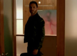 'Graceland': Briggs goes on the run.