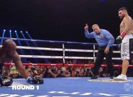 Chris Arreola noqueó en el primer round a Mitchell
