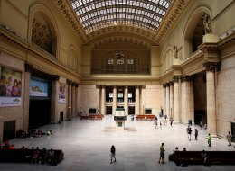 Union Station's Grand Hall in Chicago. (Photo By Raymond Boyd/Getty Images)