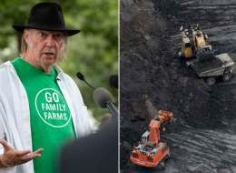 Neil Young only saw what he wanted to see when he visited Alberta's oilsands on his way to Washington D.C., where the rock star compared Fort McMurray to Hiroshima, says Alberta filmmaker.