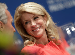 Texas state Sen. Wendy Davis (D) will soon announce her next steps in politics. (Photo by Win McNamee/Getty Images)