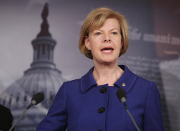 Sen. Tammy Baldwin (D-Wis.) is one of the cosponsors of the Domestic Partnership Benefits and Obligations Act. (Photo by Chip Somodevilla/Getty Images)