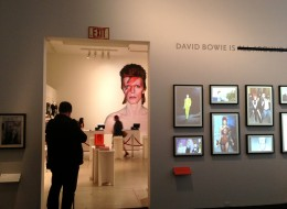 The David Bowie Is exhibit at the AGO (Photo by Joshua Ostroff / Huffington Post Canada)
