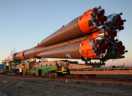 Russian Soyuz-FG rocket