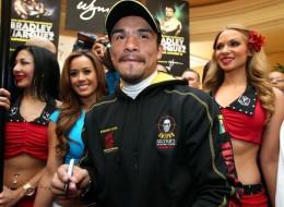 Juan Manuel Márquez ya está en Las Vegas para su pelea contra Bradley