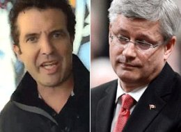 Rick Mercer wants Canadians to remember that a common thread in those scandals is Harper himself. (YouTube/CP)