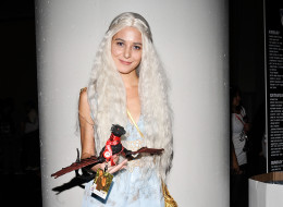 NEW YORK, NY - OCTOBER 12:  A Comic Con attendee poses as Daenerys Targaryen from Game of Thrones at New York Comic Con 2013 at Jacob Javits Center on October 12, 2013 in New York City.  (Photo by Daniel Zuchnik/FilmMagic)