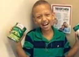 Trevor Sims, a Baton Rouge, La., boy passed away from cancer, but before he died -- he fulfilled his wish of helping to feed poor people.