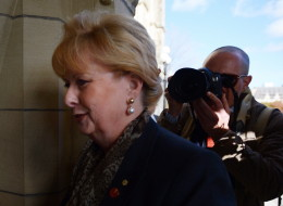 Pamela Wallin says a government move to expel her from the Senate is purely politically motivated and an affront to Canadian democracy. (CP)